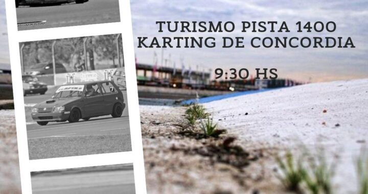 El Turismo Pista 1400 y el Karting de Concordia tendrá su primera fecha este domingo en el Autódromo de Concordia.