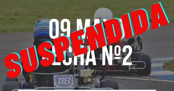 Se suspende la fecha nº2 del Karting de Concordia.