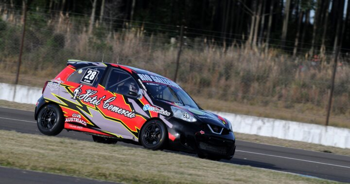 Mateo Nuñez gana por primera vez en series.