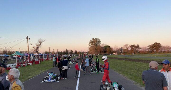 Se cumplió a medias con la cuarta fecha del Karting Entrerriano.