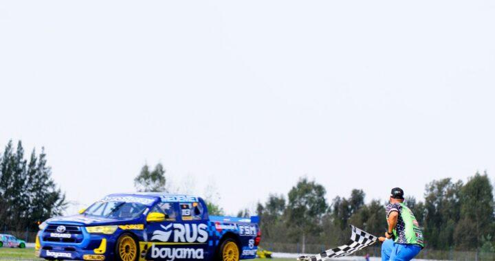 Primer y gran triunfo de Boero en TC Pick Up.